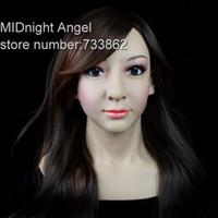 Wholesale SF Cross Dressing Party rubber latex halloween horror mask Female Masking wholesaler
