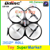 Cheap UDI U818A RC Quadcopter with Camera Remote Control Helicopter Drone with Camera Big Quadrocopter 4CH 2014 new Electronic Toys