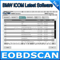 Wholesale for BMW ICOM A and BMW ICOM A2 Latest Software HDD ISTA D ISTA P