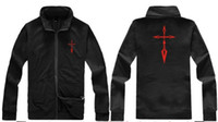 Wholesale FATE ZERO Cardigan Jacket Hot new brand men s Jackets warm coat hoodie cotton warm Stand collar Hoodies Sweatshirts