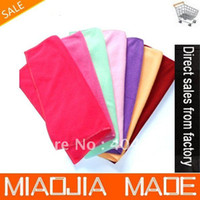 Wholesale PC cmx30cm Microfiber Cleaning Cloth Microfibre Glass Cleaner Kitchen Towel Golf Bowling Towels Dust Rags