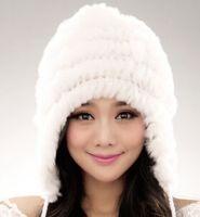 Wholesale Rabbit fur winter hat
