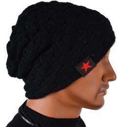 S5Q Hombre de punto de invierno Hat Beanie reversible cráneo Chunky Baggy caliente Cap AAACUD chunky knit beanie deals desde gorrita tejida de punto grueso proveedores