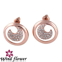 Wholesale Modern Fashion Design Newest Earring Popular Occident Fashion Jewelry Dozen Metal Alloy Beads Jewelry Making Valentine Gifts