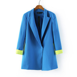 Wholesale A1 x55 Dress women Ladies Candy long sleeved female manteau women overalls blazer jacket casacos femininos hot sale