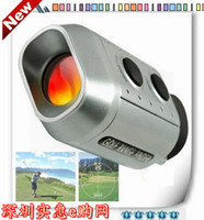 Wholesale 7X18 binoculars miniature golf electron laser rangefinder digital measuring instrument digital rangefinder