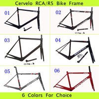 Wholesale Cervelo R5 Road Racing Bike Full Carbon Fiber Frame Tour De France Champion Cycling Frame R Series BBright RCA Bicycle Parts Sharp Team Gear