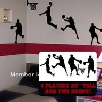 basket ball player - DIY Basketball Wall Art basket ball players room decor basketball slam dunk player