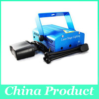 Wholesale Mini Laser Stage Light Auto voice activated Speed adjustment Party DJ Disco stage light Projector with Mp3 Player XL S M09