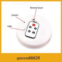 Wholesale SPY Dvr SMOKE DETECTOR GB TF CARD Surveillance hidden camera NANNY CAM security