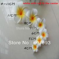 Wholesale Christmas frangipani flower Plumeria acutifolia artificial wedding decoration flowers factory