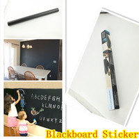 Removable Vinyl Wall Decal Large Blackboard Wall Sticker Cha...