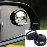 Wholesale 2014 New Arrival Hot Sales For Car Round Stick On Convex Rearview Blind Spot Mirror Set New Wholesales