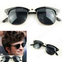 Wholesale New Fashion Corea Black Framed Glasses Plain Glass Spectacles