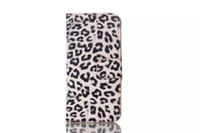 Cheap Leopard Wallet Case Cover For 4.7' iPhone 6 Air Stand Leather Cases W ID Credit Card Holder For iPhone6 6th 6G Plastic Back Cases