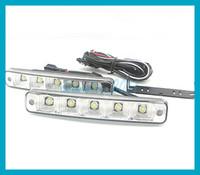 2pcs lot Car LED Daytime Running Lights 5 LED DRL Daylight H...