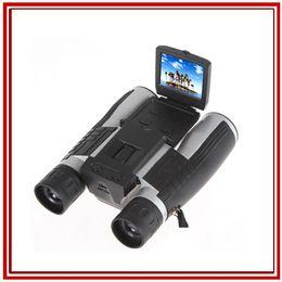 Wholesale Full HD P Video Camera Multi Functional Telescope Long Distance Digital Spy Binocular Camera quot LCD Telescope with Camcorders FS608