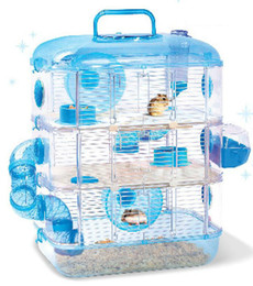 Wholesale Super large hamster cage hamster cage hamster crystal luxury bathroom pipeline