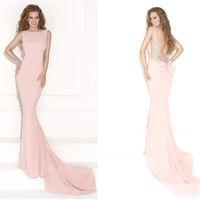 Cheap 2014 New Tarik Ediz Best Sexy Deep V Neck Dress