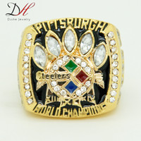super bowl rings - Daihe Brand Fashion sport jewelry Super Bowl Pittsburgh Championship Ring for men Collection big rings Size CR