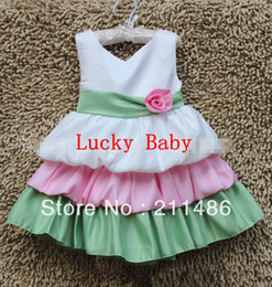 Wholesale 5 SO Fresh Style Baby Party Dress Size CM