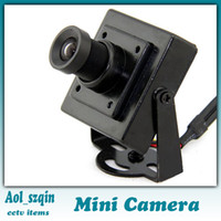 Wholesale 1 quot HD sony color ccd tvl mini cctv camera mm lens good quality
