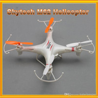 Cheap Original Skytech M62 Explorers 2.4G RC Quadcopter Remote Control RC Helicopter With HD Camera External 512MB Card Drone