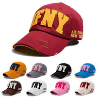 afny cap - Fashion new AFNY letter Baseball Cap sports cap sun shading hat male women s hip hop summer sun hat