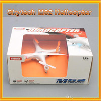 Wholesale New Arrival Skytech M62 Aircraft Toy With G Axis UFO RC Mini Drone Degrees Helicopter With Camera Toy LED