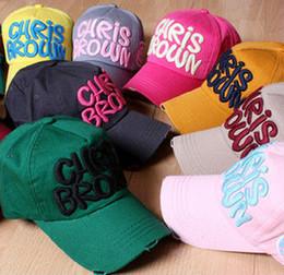 Free shipping, New Chris Brown Letter Baseball Cap Snapback Summer Fashion Sports Hats Women Men Sun Hat 80111