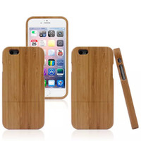 Bamboo  wooden case - New Genuine Real Natural Bamboo Wood Wooden Combo Case wooden key Hard Case Cover For for iphone G S iPhone