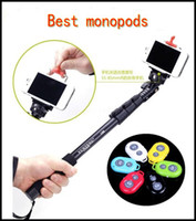 Cheap 2014 Yunteng 188 Extendable Self Portrait Selfie Stick tripod monopod for camera for gopro and with holder for iphone 5 5s and android phone