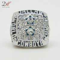 Wholesale fashion sport Jewelry Super Bowl Dallas Cowboys Championship Ring custom big size