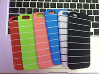 Wholesale - 2014 New i6 TPU Case Top Quality Colorful Stripe...