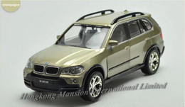 Wholesale 1 Alloy Diecast Car Model For TheBMW X5 E70 Collection Pull Back Car With Sound Ligh White Gold Dark Gray Light Green
