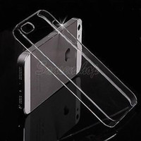 Wholesale Min order is piece Transparent Clear Crystal Ultra Thin Glossy Snap On Back Hard Case Cover Skin for iPhone G S
