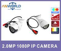 Wholesale IP camera Mega Pixel HI3516C sony p H support ONVIF mini Metal bullet Weatherproof indoor outdoor camera with POE Optional