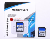 Wholesale Hot DHL GB GB GB SD MicroSDXC SHC Memory Card Flash Memory Card Elite Pro SD Card for Digital Cameras High speed for Laptop