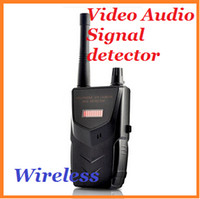 Wholesale Wireless Tap Video and Audio Signal Detector Spy Camera and Bug Detector