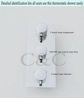 Wholesale Wall Mounted Chrome Thermostatic Shower Valve I V