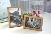 wood photo frame - Ikea Style Wooden Picture Frame Modern Simplicity x6 x7 Wood Photo Frame Wall Decal Tabeltop Display Home Decoration