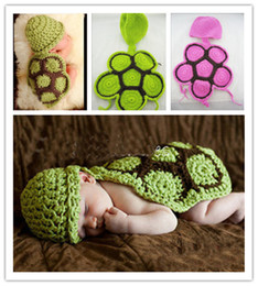 Wholesale Baby Knit Cartoon Crochet Caps Handmade Children Hat Newborn Baby Animal Beanies Photography Props infant Costume Outfits