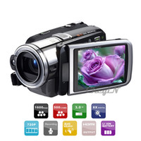 Wholesale 16Mp P HD x Digital Zoom LCD Screen Anti shake Digital Video Camera Camcorders Camcorder Black DVR25H