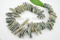 Wholesale Natural Green Crystal Agate Druzy Quartz Geode Stone Loose Beads Spikes Points Drilled Briolettes
