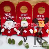 Wholesale Zorn store Christmas Gifts Pendant Door listing Stereo Santa Claus Christmas Snowman Christmas elk Christmas ornaments