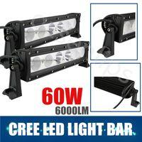 Wholesale 2pcs W INCH CREE LED Work Light Bar V V IP67 Flood Spot Combo beam For Jeep SUV WD x4 Off_road LED Light Bar