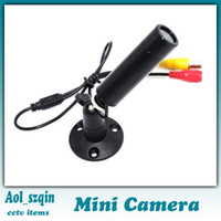 Wholesale 1 quot HD orginal sony color ccd tvl mini bullet cctv camera mm mm lens good quality
