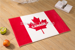 Wholesale high quality Canada Flag design portable muslim prayer mat huf carpet in price