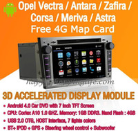 Wholesale 7 quot Android Car DVD GPS Navi Wifi G for Opel Astra Vectra Antrara Zafira Corsa Bluetooth iPod Radio support steering wheel control