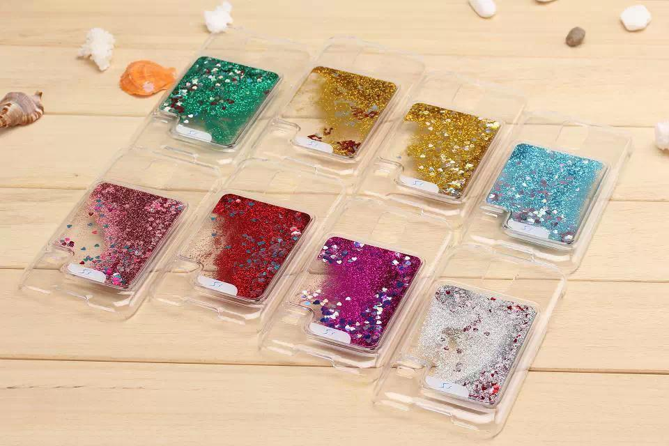 Cell Phone Cases Liquid Flowing glitter star bling Case for samsung s4 ...